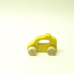 Cotxe tintat groc