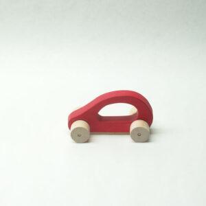 Cotxe tintat vermell